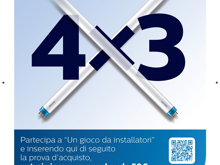 21 - PROMO - Tubi CorePro 4x3 - Philips